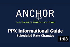 Anchor_Employee Maintenance- Schedule Rate Change
